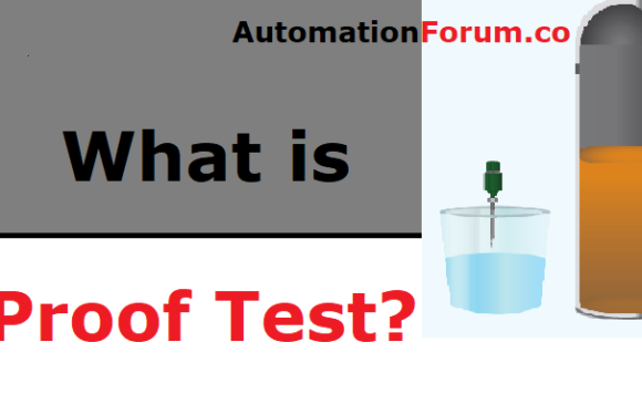 What is Proof test in instruments?