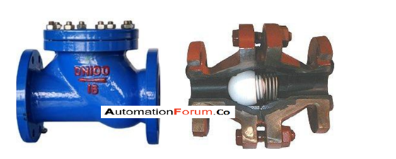 What is a check valve and what is the use of a check valve