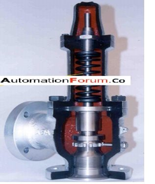 What is a safety valve and what is the purpose of a safety valve